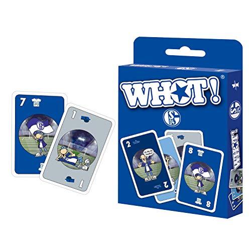 Winning Moves WHOT! FC Schalke 04 Kartenspiel Spielkarten Mau-Mau Variante Strategie Spiel