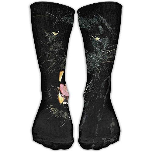Panther Kostüm Pink Mädchen - Gped Kniestrümpfe,Socken,Panther Unisex High Compression Socks Soccer Knee Long Stockings Ankle Sport Casual Socks Sexy43