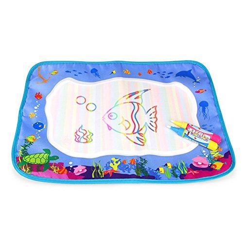 Baby Lernspielzeug, 12shage Kinder Bildung Magie Wasser Malerei Farbe Graffiti Bord Spielzeug 39 * 29 cm