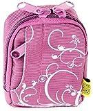 Bilora Fashion Bag 2341 Kameratasche - violett - passend für: Rollei Sportsline 60 / Easypix Aquapix W1024