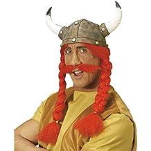 Sombrero de látex Obelix | Sombrero de gala | Casco Carnival Gaul | Casco Obelix | Casco para traje de carnaval