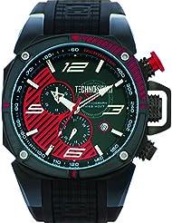 technosport Hombre Chrono–Reloj Fórmula Negro