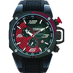 TechnoSport Herren Chrono Uhr - FORMULA schwarz