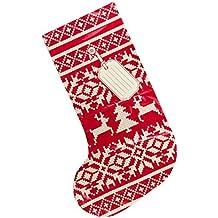 Suck UK SK BAGSTOCKING1 - Bolsas para regalos con cierre de Navidad