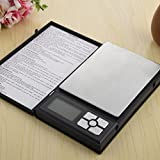 500 Grams Capacity Gemstone Jewellery Diamond Weighing Measuring Scale Jewelry Weight Check Notebook