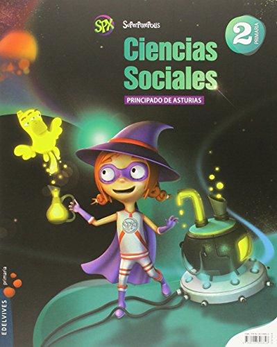 Ciencias Sociales 2º Primaria (Principado de Asturias) (Superpixépolis) - 9788426396846