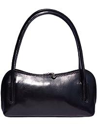 Florence Leather Market Sac à main porté épaule avec double lanière 6886