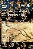 Telecharger Livres Lettres d amour lettres d exil Edition bilingue francais latin (PDF,EPUB,MOBI) gratuits en Francaise