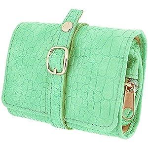 Mele & Co - Borsetta portagioielli da viaggio, da donna, colore: Verde menta