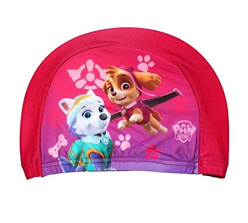 Nickelodeon Paw Patrol - Badekappe für Kinder (Pink) (Badekappen Für Mädchen)