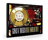 Guns N Roses Live And Let Die Framed Goldene Schallplatte Record Vinyl (C1)