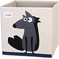 Cubo del Almacenaje del juguete Caja plegable lona cubo Dibujos Animados para Niños por ELLEMOI
