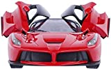 #8: AILA Toys Remote Controlled Ferrari with Opening Doors, Red