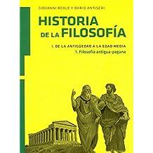 Historia de la filosofía I. De la Antigüedad a la Edad Media: filosofía antigua-pagana: 1