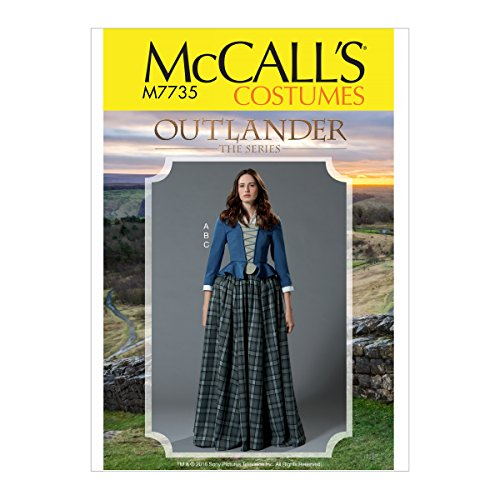 Kostüm Pattern Mccall - McCall 's Patterns Schnittmuster Kostüm Schnittmuster, Tissue, Mehrfarbig, 17x 0,5x 0,07cm