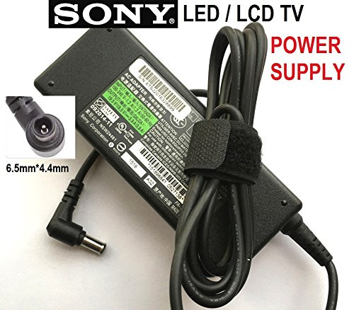 19,5 V Netzteil für Sony LED/LCD-Fernseher, Sony Bravia KDL-50W656A, TV Stromverbrauch 97 W, 3 Jahre Garantie, Lot REF 75 (Lcd-netzkabel Sony)