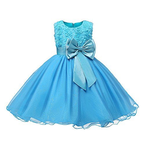 ng Formal Teenagers Prom hibote Gown Wedding Party KleiderBlue 90CM (Teenager Mädchen Kostüme Uk)