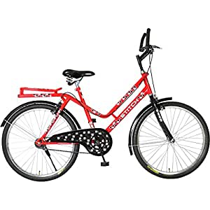 Hero Stitch 26T Single Speed Mountain Bike 19-inches (Red)