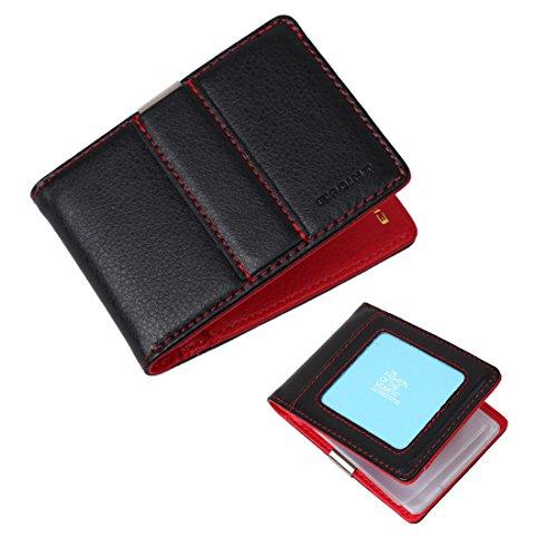 ECM11A04 Red Fashion Business presenta per tutto il Mondo clip dei soldi del supporto di carta del raccoglitore del tessuto a mano eccellente Abiti formali Da Epoint