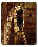 Carl Spitzweg - Il Topo da Biblioteca, 1850 Tappetino per Mouse (23 x 19cm)