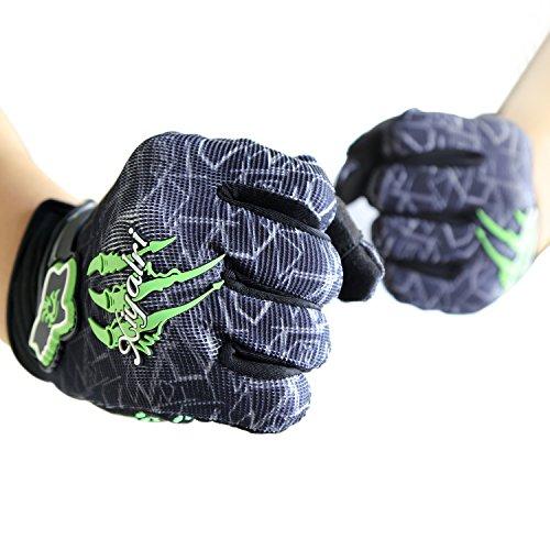 [Fahrradhandschuhe] Xiyalri Fahrrad Voll Finger warmen Radsporthandschuhe Motorrad Mountainbike Handschuhe für Herren und Damen (X Large) - 4