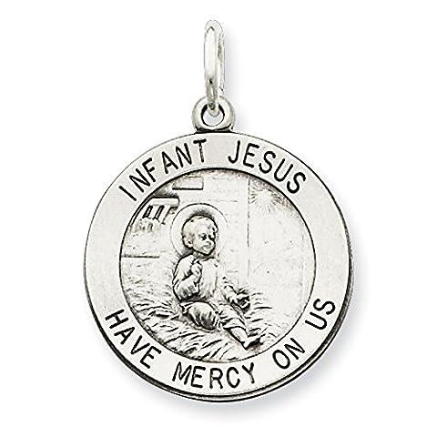 Sterling Silver Divino Nino Pendant (Divine Infant Jesus)