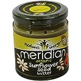 MERIDIAN - Beurre de graines de tournesol 100% sans huile de palmier - Sans Gluten - Vegan - 170 gr - en pot de...