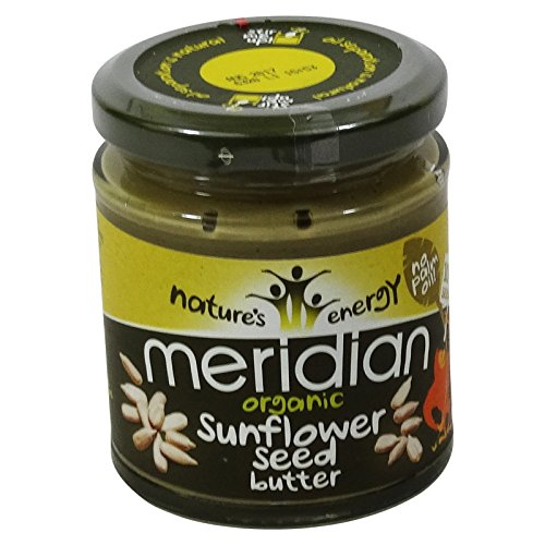 MERIDIAN - Burro di semi di girasole 100% senza olio di palma - Senza Glutine (Burro Biologico Nocciola)