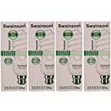 Swainsom ENERGY SAVING LAMP 23/25/27/30 W (Pack Of 4 )