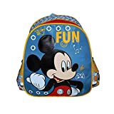 Diakakis Mickey Mouse Sac à Dos Enfants, 31 cm, Multicolore
