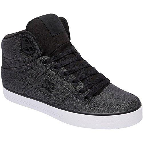 DC SPARTAN HI WC TX SE ADYS400004-BKB, Sneaker uomo Grey Resin Rinse