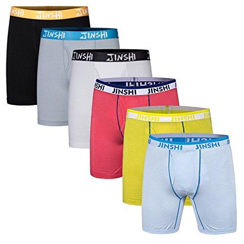 jinshi-boxer-lunghi-uomo-trunk-boxershort-intimo-di-bambu-colori-assortiti-pacco-da-6-taglia-3xl