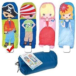 Süßer Kinder Schlafsack Mumienschlafsack 150 cm Kids Innenschlafsack für winter, sommer