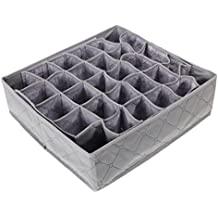 Caja De Organizador De Ropa Y Calcetines Caja Plegable De Carbón