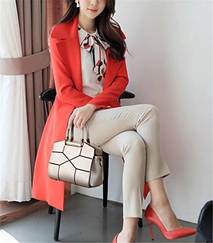 Xinmaoyuan Borse donna semplice capacità di grandi dimensioni spalla borsa Messenger Casual Wild borsetta Big Bag,Bianco Bianco