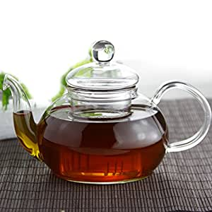 600ml Glass Teapot with Glass Infuser