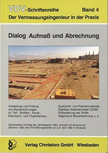 Dialog, Aufmass und Abrechnung (VDV-Schriftenreihe)