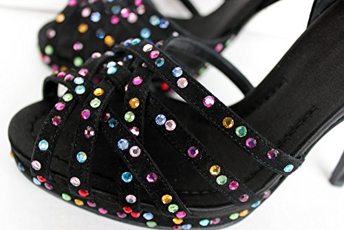 Dolce & Gabbana , Escarpins peep-toe femme Noir - Noir