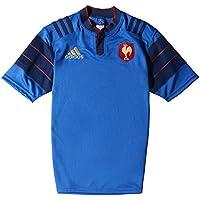 adidas FFR A JSY - Camiseta para hombre, color rojo/dorado