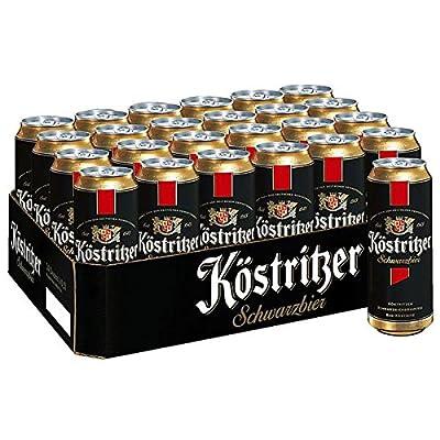 Köstritzer Schwarzbier, 24er Pack, (24 x 500 ml)
