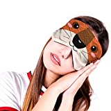 LRWEY 1PC Animal Cartoon Sleep Eye Mask Padded Shade Cover Travel Relax Aid- The Authentic are ONLY