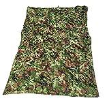 ANHPI-Sunshading Net Camouflage Dreischicht-Schattennetz Tuch 85% Sonnenschutz Atmungsaktiv Garten Blumen Anti-UV-Mehrzweck-Drahtgeflecht,20 Größen,OneColor-3 * 4m