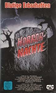 Horrornächte - Blutige Erbschaften [VHS]