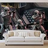 Papier Peint Photo Mural 2742P4 - Collection Star Wars - XL - 254cm x 184cm - 2 Part(s) - Imprimé sur 115g/m2 papier mural