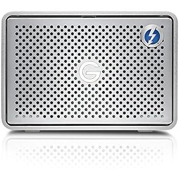 hitachi 8tb. g-technology g-raid removable thunderbolt 2 usb 3.0 8000 gb external hard drive - silver hitachi 8tb