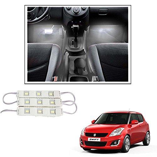 Vheelocityin 9 LED Custom Cuttable Car White Light for Interior/...