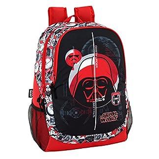 """518eqUscXZL. SS324  - Safta Mochila Escolar Star Wars """"Galactic Mission"""" Oficial 320x160x440mm"""
