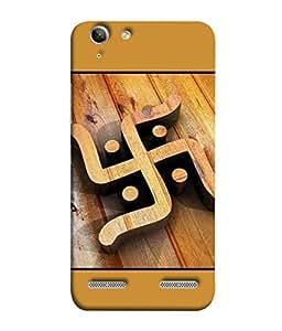 PrintVisa Designer Back Case Cover for Lenovo Vibe K5 Plus :: Lenovo Vibe K5 Plus A6020a46 :: Lenovo Vibe K5 Plus Lemon 3 (Swastik Swastika Ganesh Belief Ganpati Hindu Beautiful Hinduism)