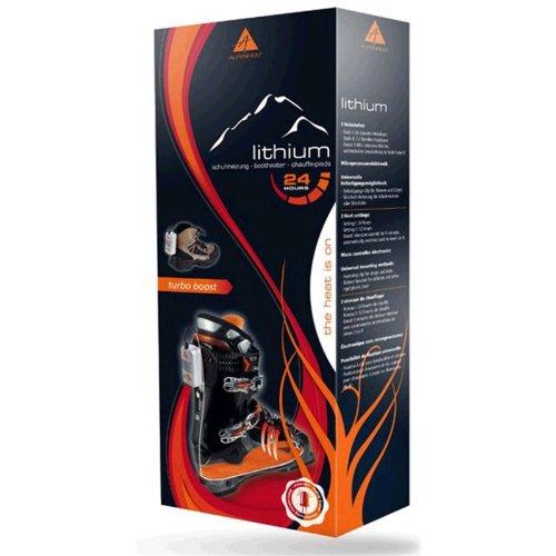 Alpenheat AH6 Lithium Schuhheizung Standard SPS 100-240V, AH6 - 6 Heizstufen