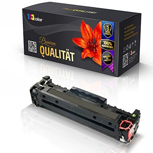 Print-Klex Alternative Tonerkartusche für HP Color LaserJet CM2320 WBB MFP CM2320 WI MFP CM2323 CM2720 FXI MFP CP2000 Series CP2020 Series CC530 A Schwarz Fxi Serie